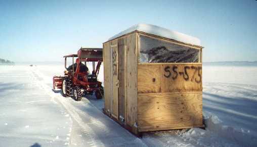 Ice shack fish n 39 finn for Ice fishing shacks